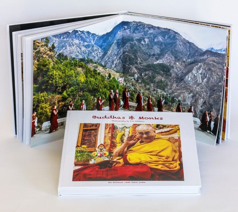 Buddhas and Monks is a collection of high quality photography by Tim Sabatino.